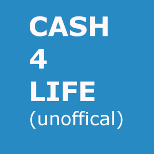 Logo for New York Lottery CASH4LIFE 512